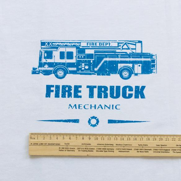 【アートファブリック】FIRE TRUCK