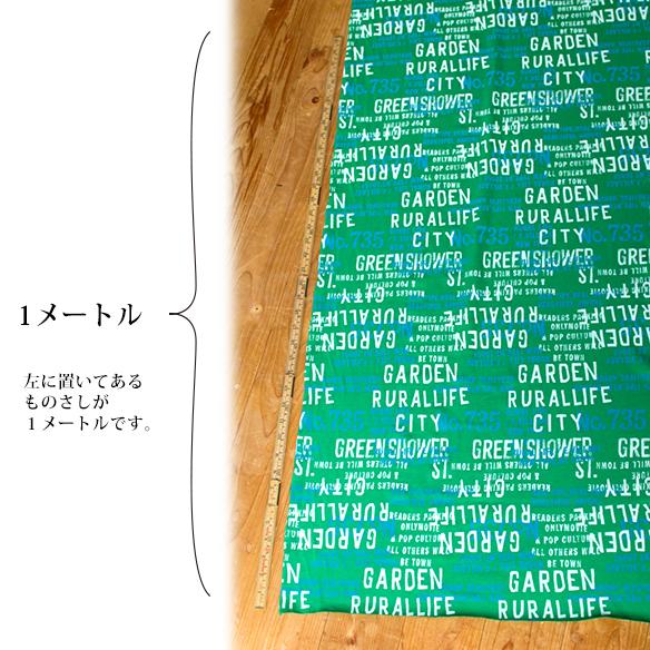 【ニット】LOGO柄プリント天竺:3色展開(ベース:ラフィー天竺)