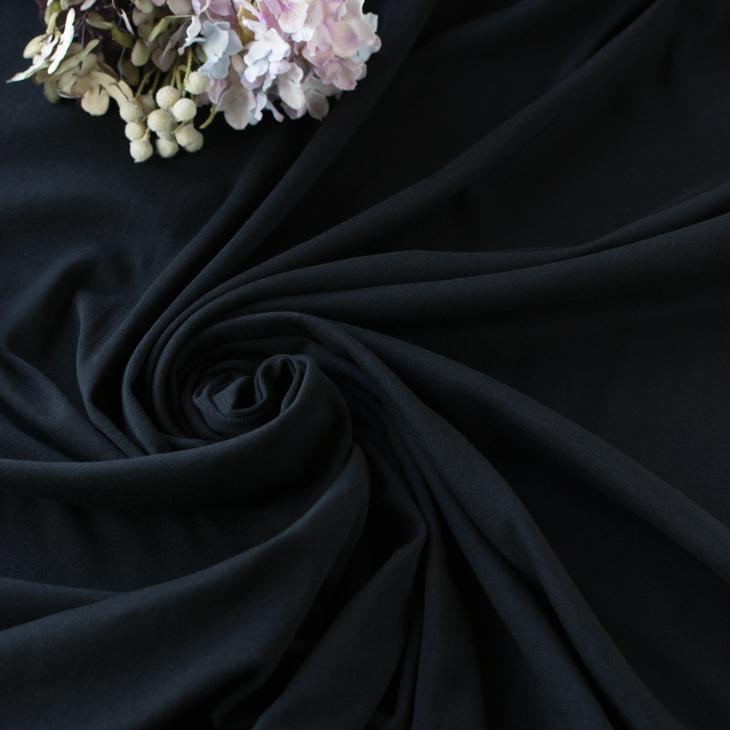 【ニット】30/ソフトフライス(ブラック)
