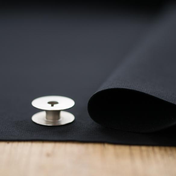 【ニット】上品なシルケット加工の40/ストレッチポンチ