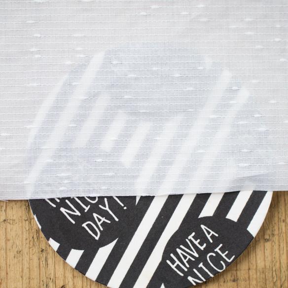 【布帛】ぷちドロップボーダー(ホワイト)