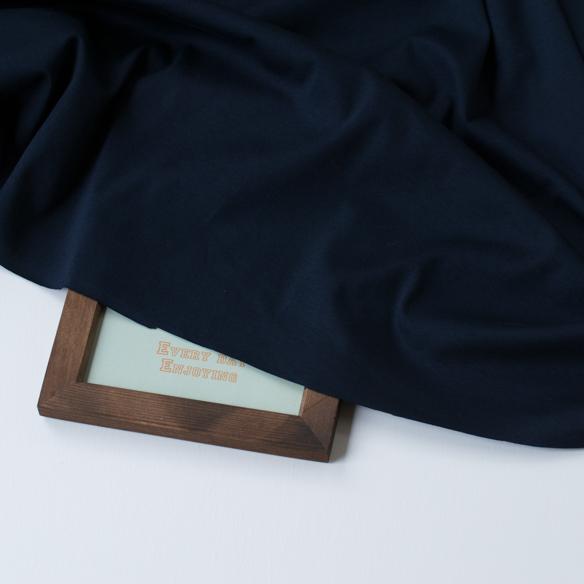 【ニット】なめらかなバイオ60/1シルケットスムース(2色展開)