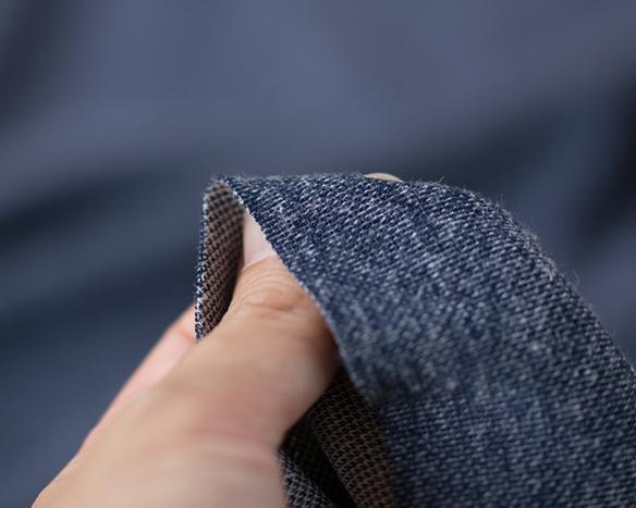 ワケあり特価!【ニット】縫いやすい!くったりしたポリエステル混デニムニット