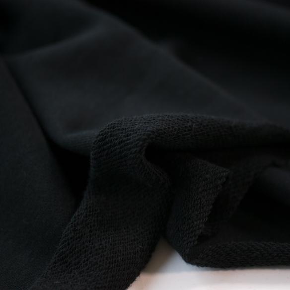【ニット】みんなの裏毛ニット(ブラック)