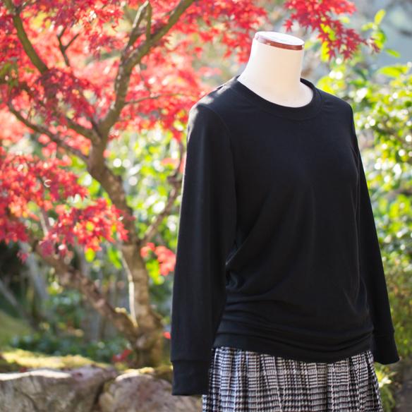【ニット】機能性素材・プレミアムウォームベア天竺(2色展開)