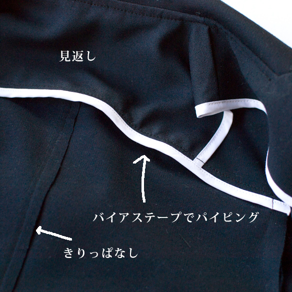 【ニット】ジャケットにもおすすめ!ナイロン混・ポンチニット(ネイビー)