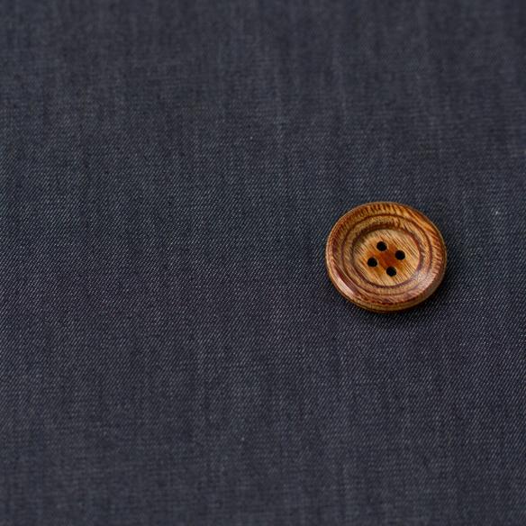 【布帛】薄手のストレッチデニム(インディゴ染め)オーダーカット
