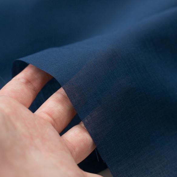 【裏地】縫いやすい夏の裏地!清涼速乾・東レ「SAP(サップ)」(ダークブルー/グレー)