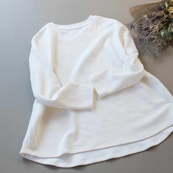 【プレゼントパターン】裾カーブワイドTシャツ